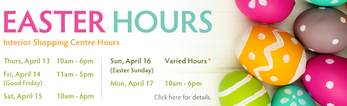 Easter Hours Save On Foods